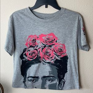 Frida Kahlo Tee by love tribe NWT Size Small